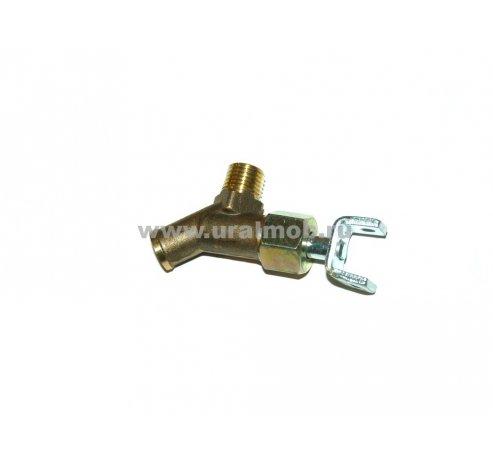 Фото: Кран тормозной двухсекционный без рычага (ПААЗ), арт. 100-3514010-01
