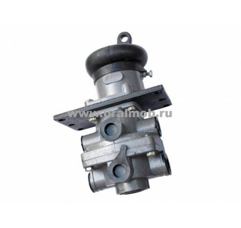 Фото: Кран тормозной двухсекционный подпедальный (РААЗ), арт. 100-3514108-10