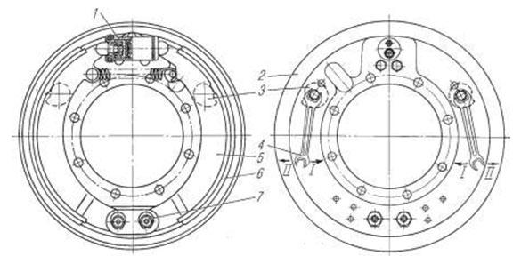 Тормозная система «Урал-4320»: